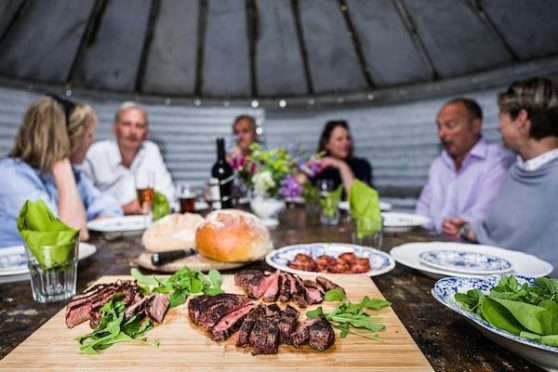 The campaign encourages people to seek out local food and visit farms during their staycations.