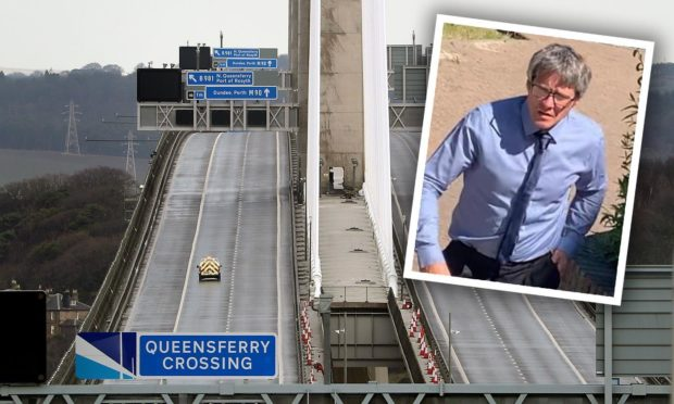 Barry Trotter's accident happened the day the Queensferry Crossing closed.