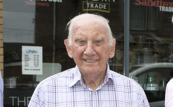 Bill Bannerman, 91, who took over Bannerman Decorators from his father Gordon.