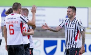 Dunfermline 4-1 Stenhousemuir: Fantastic finale to historic week as Pars power into Premier Sports Cup knockout stage