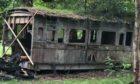 c1855 railway carriage, £6200 (Charterhouse Auctions).