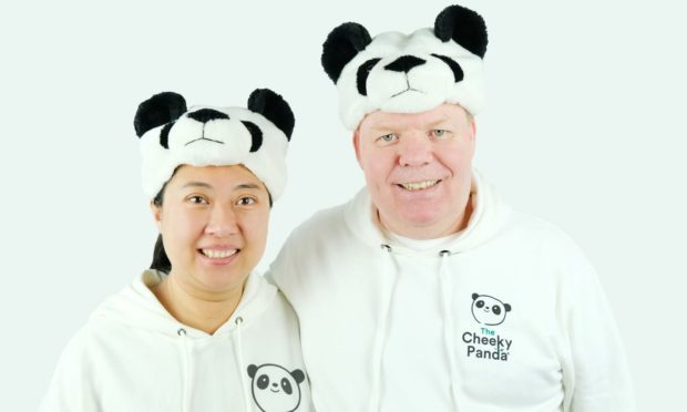 Founders of The Cheeky Panda, Julie Chen and Chris Forbes.