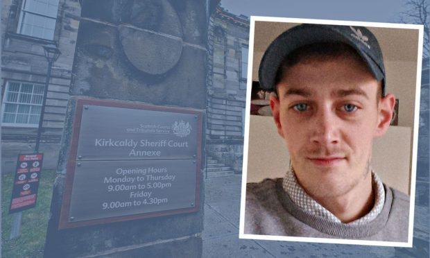Christopher Lothian was jailed at Kirkcaldy Sheriff Court.