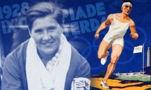 Cissie Stewart competed in the 1928 Olympic Games in Amsterdam.