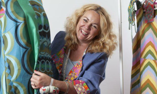Fife textile designer Claire Christie
