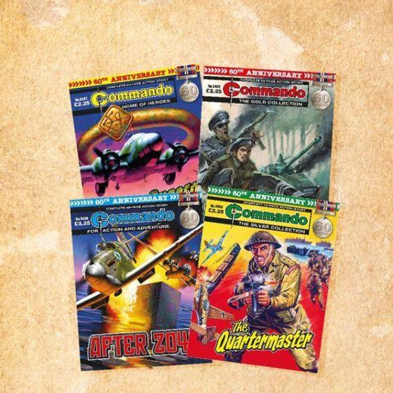 Commando 60th Anniversary Bundle.
