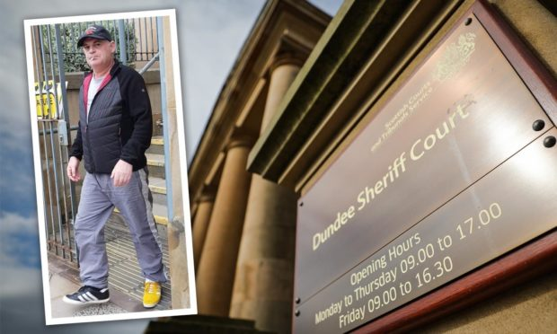 Stephen Hardstaff at Dundee Sheriff Court