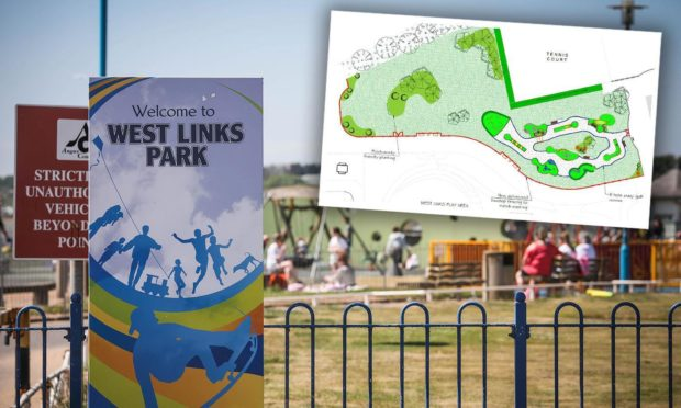 The new £200,000 crazy golf course is planned for West Links.