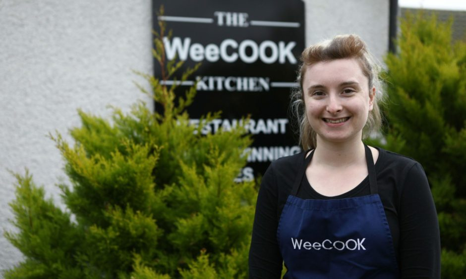 Emelye Macqueen, manager at the WeeCOOK Kitchen.