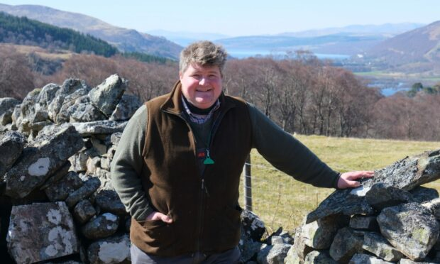 To go with story by Nancy Nicolson. Finlay McIntyre is farm manager at Dunalastair Estate Picture shows; Finlay McIntyre. Loch Rannoch. Nancy Nicolson/DCT Media Date; Unknown; 9e82d683-820f-42f9-8c2f-fd3b8543ff66