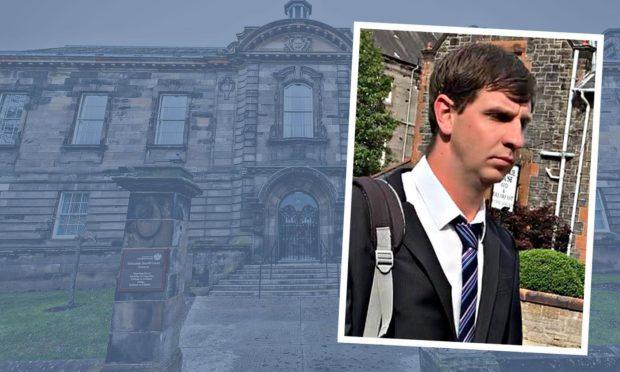 Dean Bromage at Kirkcaldy Sheriff Court