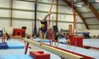 Children taking part in gymnastics at the McTaggart Centre