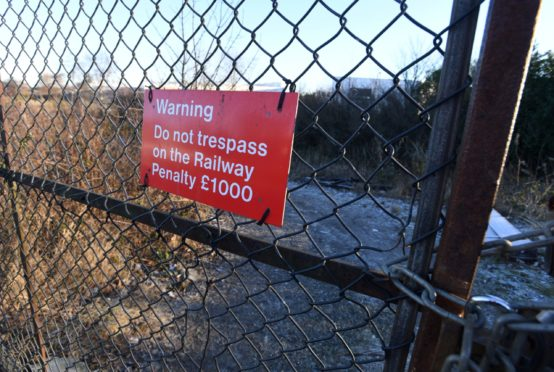 Railway trespassing in Fife sparked a plea to parents.