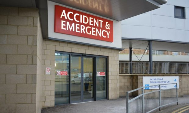 A&E department at Victoria Hospital in Kirkcaldy.