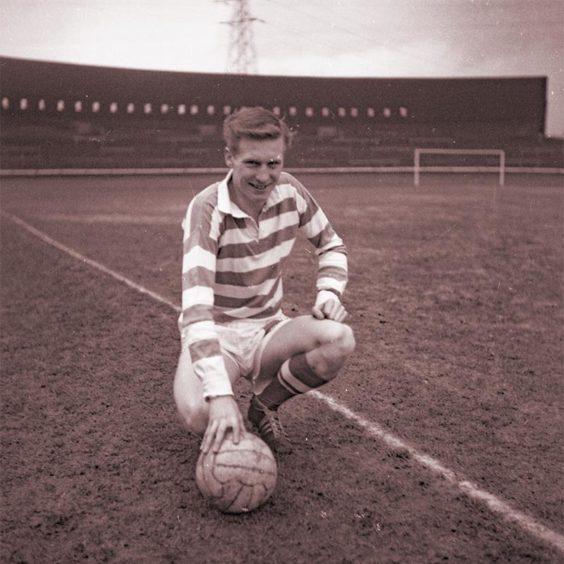 Lisbon Lion Captain, Billy McNeill.