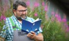 """Grant Baird has written a poetry book called """"Under the Blue"""""""