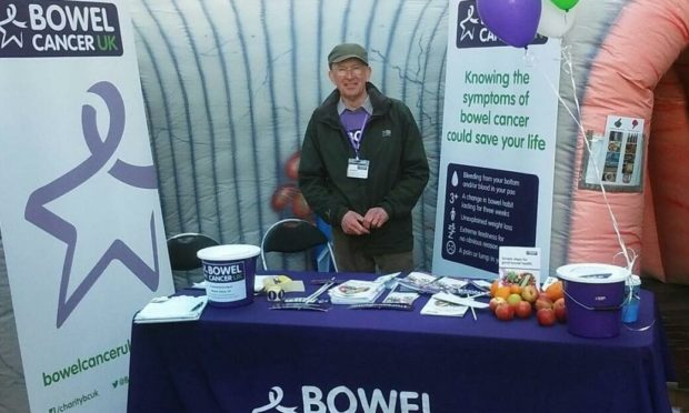 Ron also supports Bowel Cancer UK.