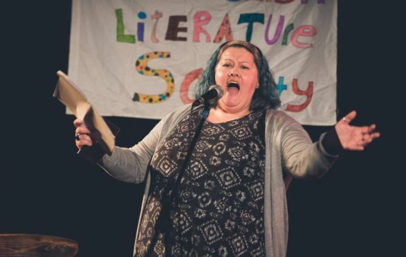 Doric champion Jo Gilbert will be in action at the Wee Gatherin' poetry festival in Stonehaven this weekend.