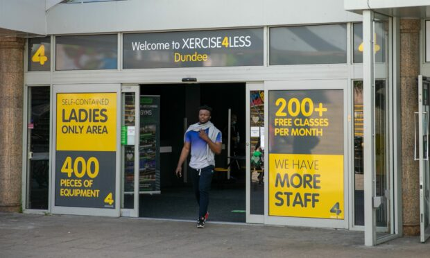 Xercise4less at Wellgate Shopping Centre, Dundee