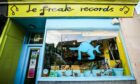 Le Freak Records in Dundee.