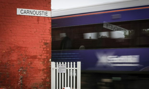 ScotRail trains in Tayside and Fife