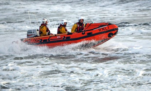 Broughty Ferry RNLI inshore lifeboat