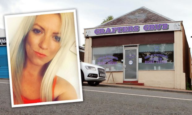 Kirsty Brennan was convicted over abusive text messages to her partner in the Grafter's Grub cafe.