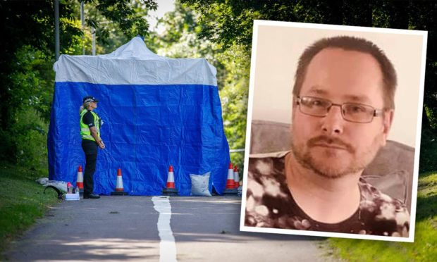 Police believe Mark Deavin died where he was found in Glenrothes