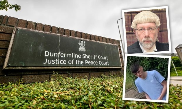 Sheriff Alastair Brown remanded Canning at Dunfermline Sheriff Court