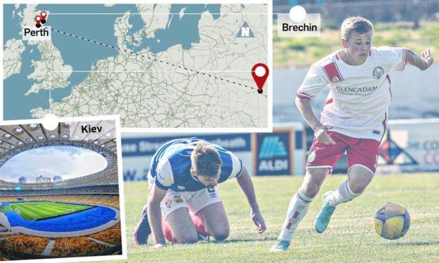 Max Kucheriavyi has had a long journey from Kiev to Brechin City