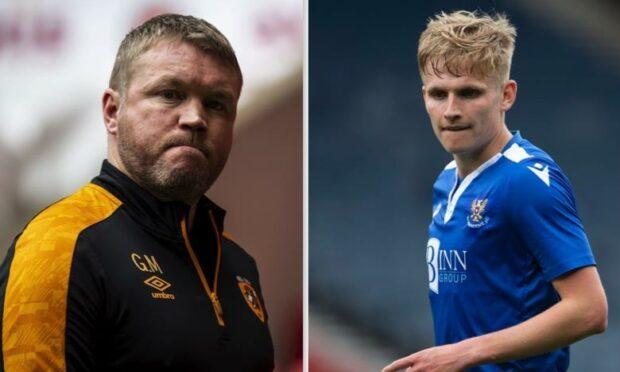 The McCann's: Hull boss Grant, left, and Ali