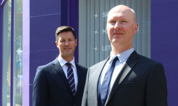 Westport Property's Adam Hutcheson and Michael Clement.
