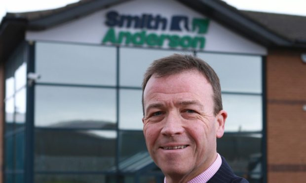 Smith Anderson Group Ltd Michael Longstaffe Chief Executive Officer  SMITH ANDERSON CEO MICHAEL LONGSTAFFE FOR FIFE BUSINESS MATTERS