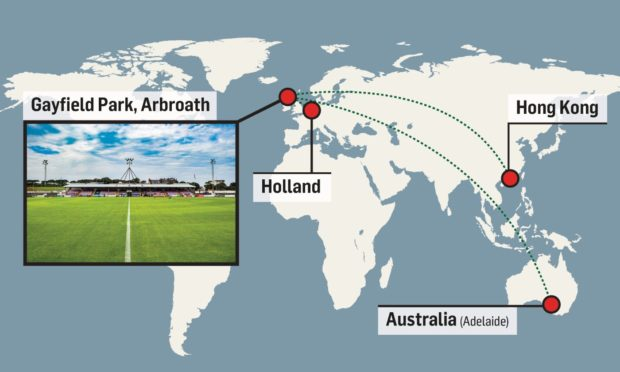 Arbroath are enjoying record season ticket sales from fans from as far as Australia and Hong Kong