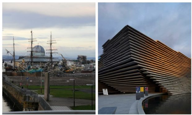 The V&A is among several projects already completed at Dundee Waterfront.
