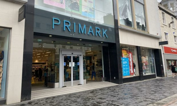 Primark on Perth High Street.