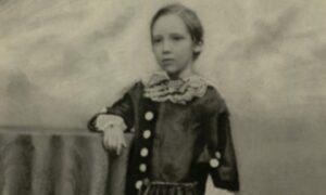 Robert Louise Stevenson aged 7