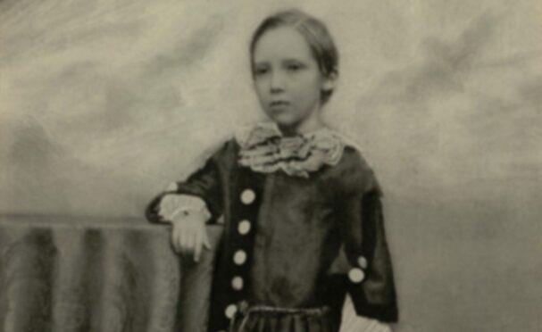 Robert Louis Stevenson aged 7