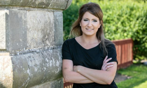 Shirley Reise, 36, is living with multiple sclerosis stars in MS Society Scotland charity campaign.