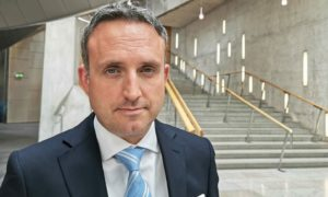 Alex Cole-Hamilton, widely tipped as next leader of the Scottish Liberal Democrats