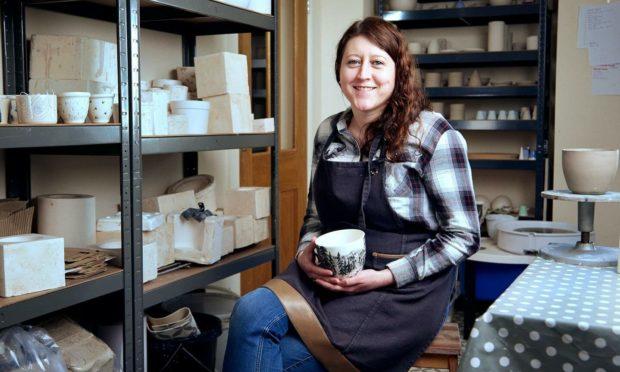 Nicola McCabe of Last Winter Ceramics.