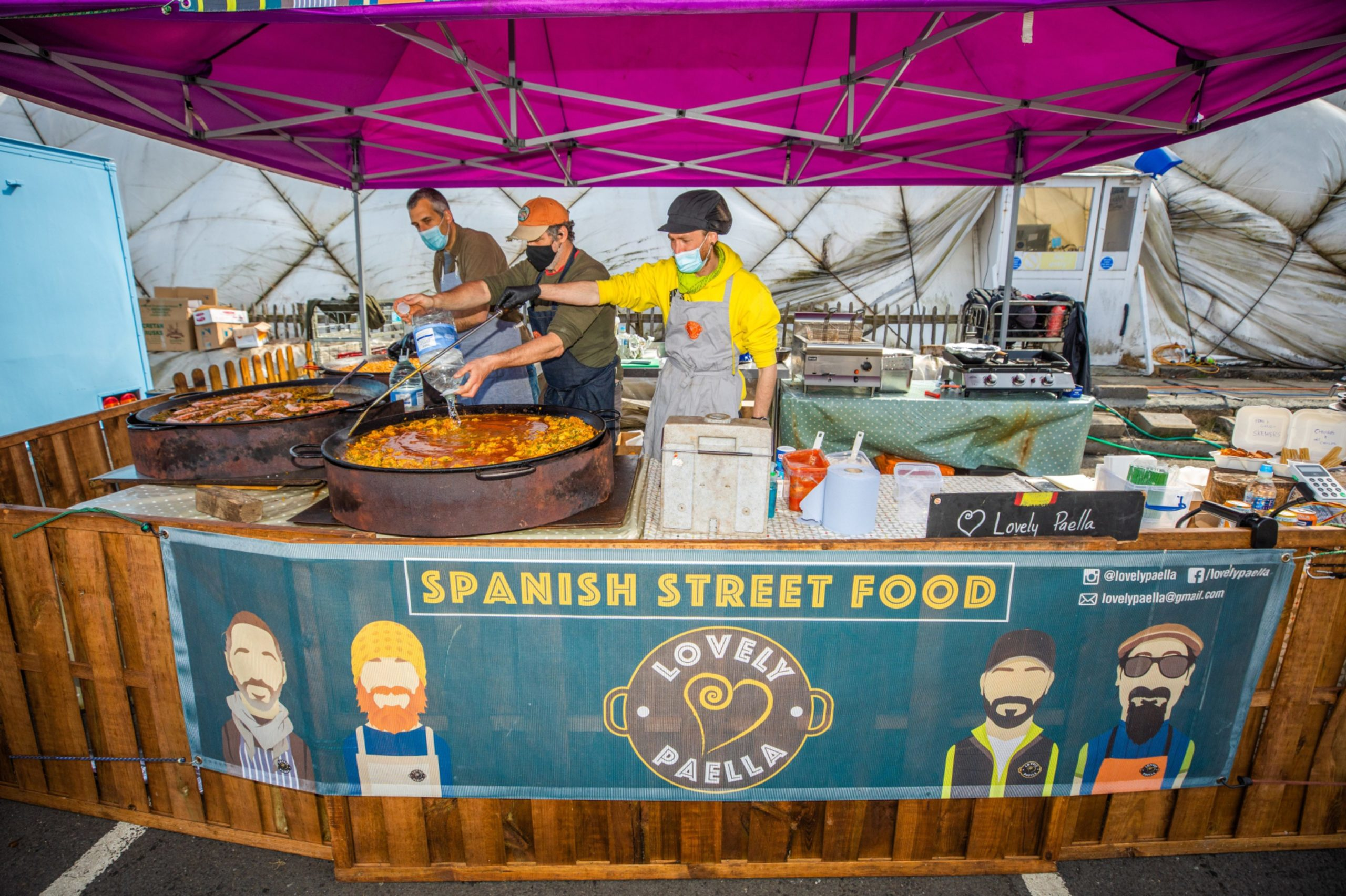 street food near me in the north and north-east of Scotland
