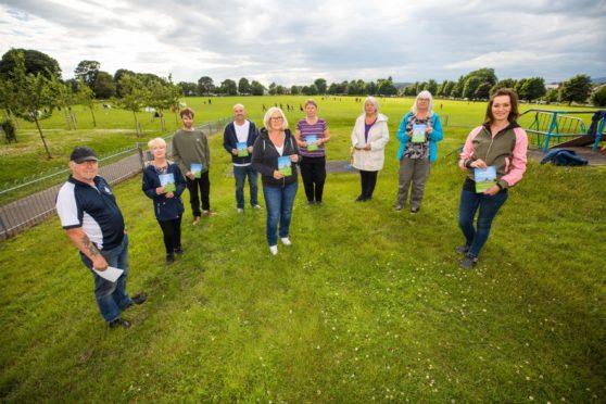 Objectors to the Fairmuir Park plans.