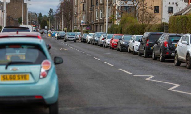 Forsyth's escape bid took him along Dundee's Clepington Road