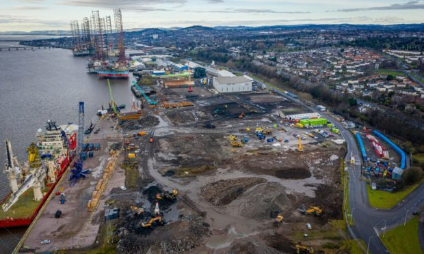 Port of Dundee is undergoing a £40m transformation.