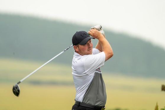 Steven Stewart led with a record 63 at Portlethen.