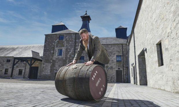 tewart Bowman, chief distiller at Bora Distillery.