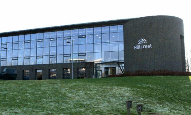Hillcrest HQ on Explorer Road, Dundee