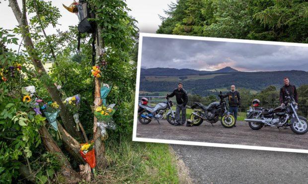 Scene where Fife biker was killed