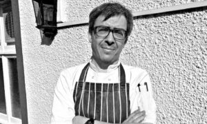 Tim Findlay-Coulson, chef owner of West End Bar, Pittenweem.